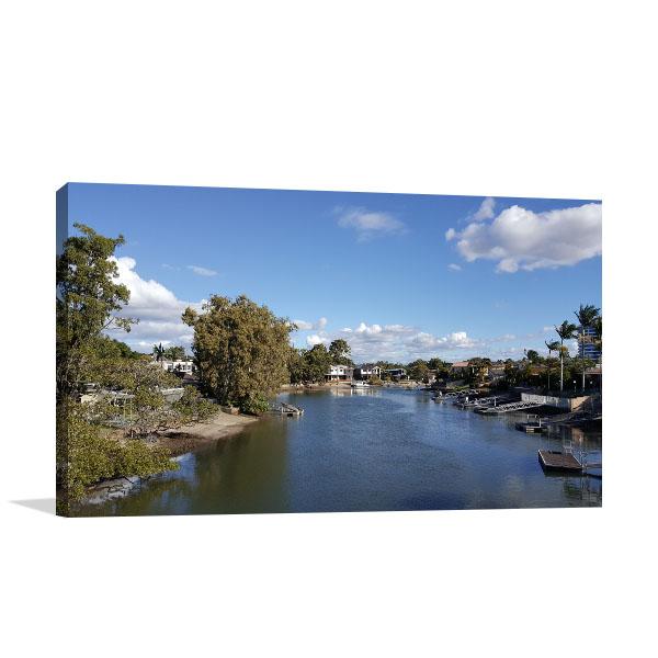 Gold Coast Art Print Biggera Waters