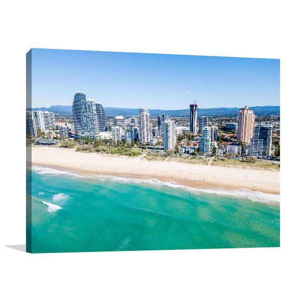 Gold Coast Art Print Broadbeach