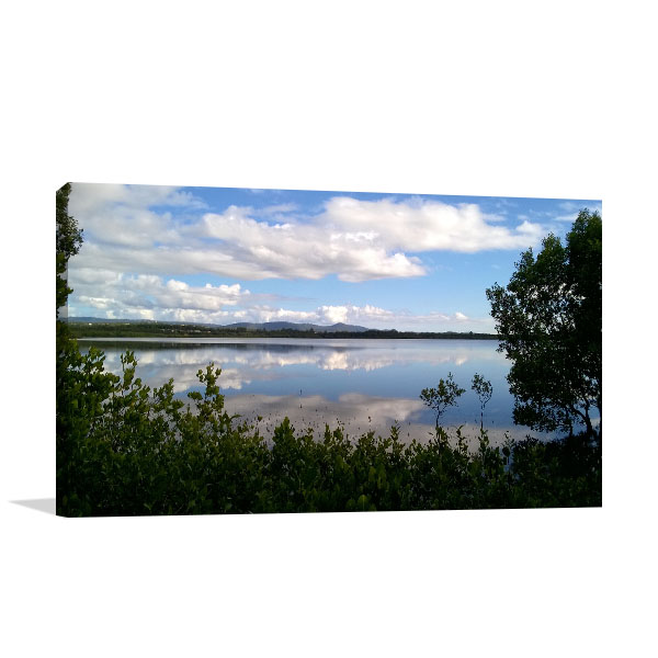 Gold Coast Art Print Coombabah Lake