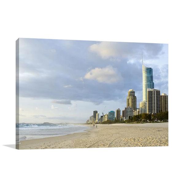 Gold Coast Australia Print on Canvas