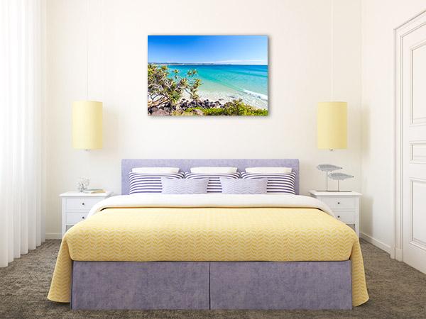 Gold Coast Canvas Print Greenmount Beach Photo Art