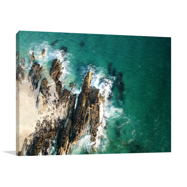 Gold Coast Currumbin Wall Art Print