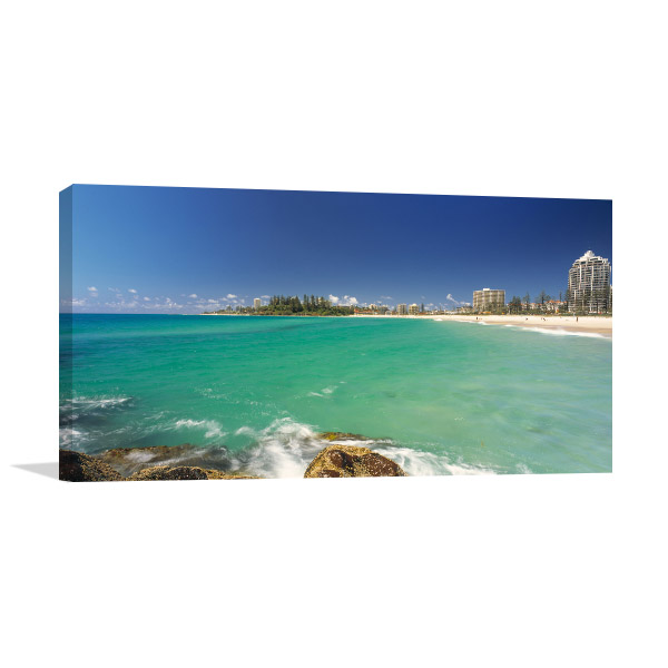 Gold Coast Milieu Canvas Art