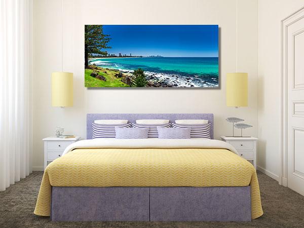 Gold Coast Skyline Surfing Beach Canvas Art Prints