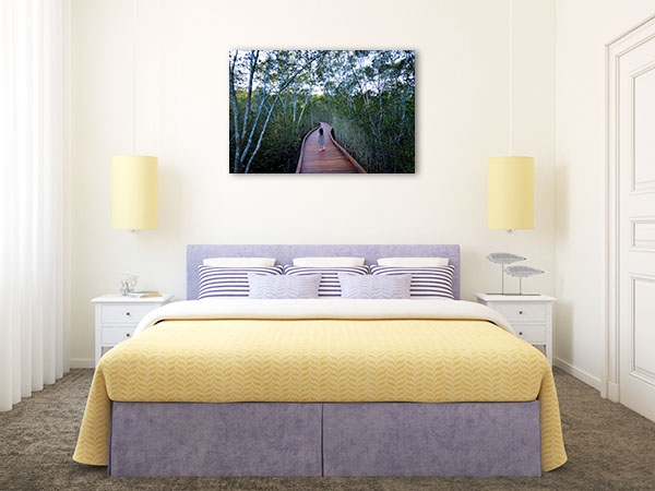 Gold Coast Wall Print Coombabah Lakelands Artwork Canvas