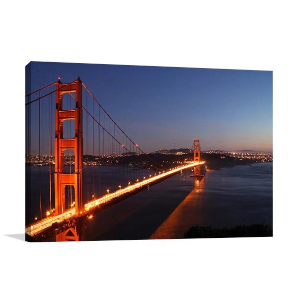 Golden Gate Bridge Canvas Art