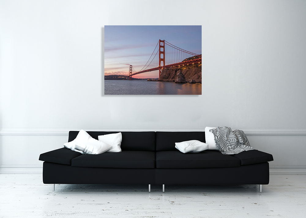 San Francisco Bridge Sunset Photography