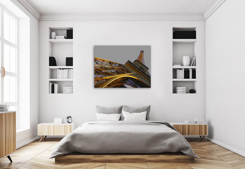 Gold Bedroom Wall Art Canvas