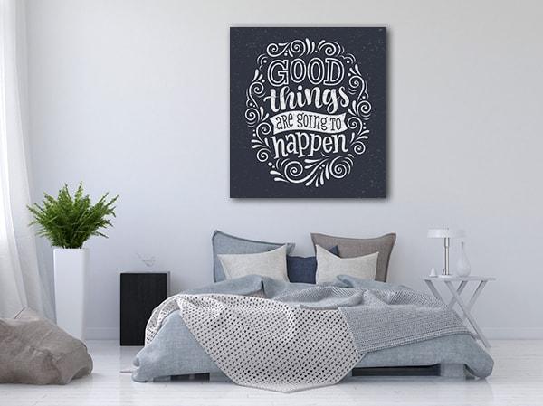 Good Things Canvas Art