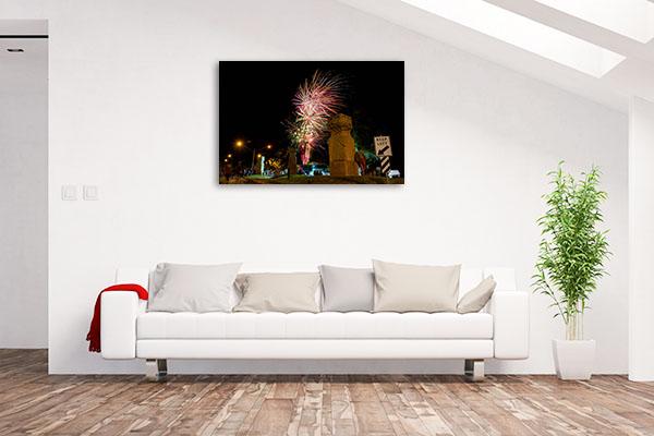 Goondiwindi Art Print Fireworks Picture Wall