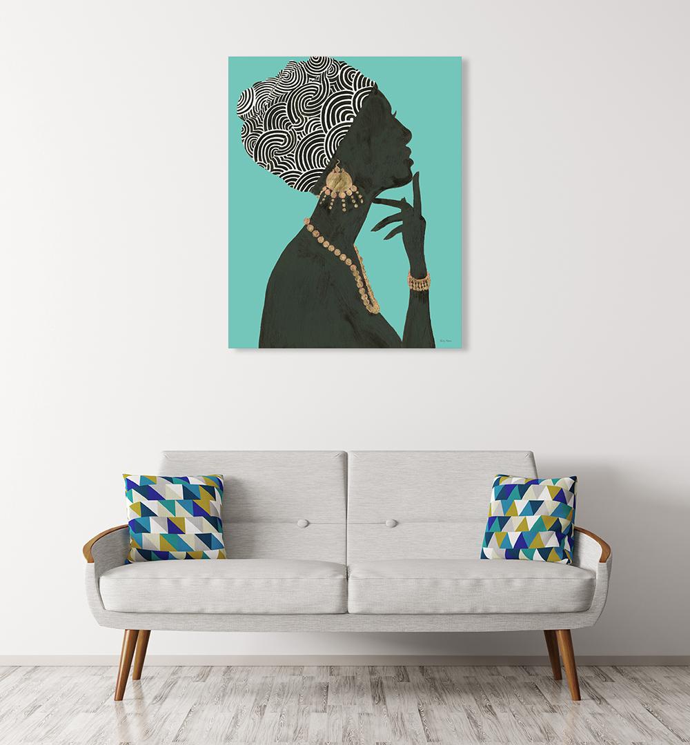 Portrait Art on Photo Canvas