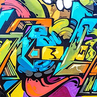 Graffiti Artwork Prints on Canvas