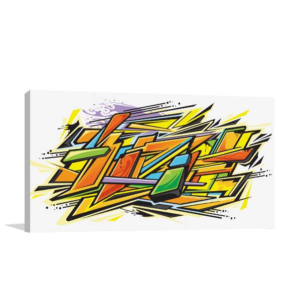 Graffiti Graphics Wall Art
