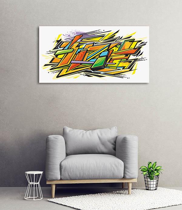 Graffiti Graphics Canvas Art Prints