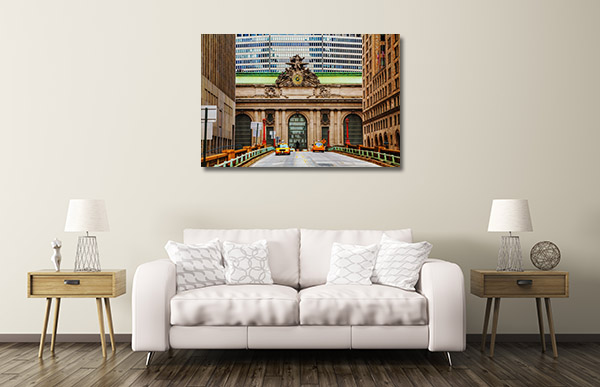 Grand Central Terminal Canvas Prints