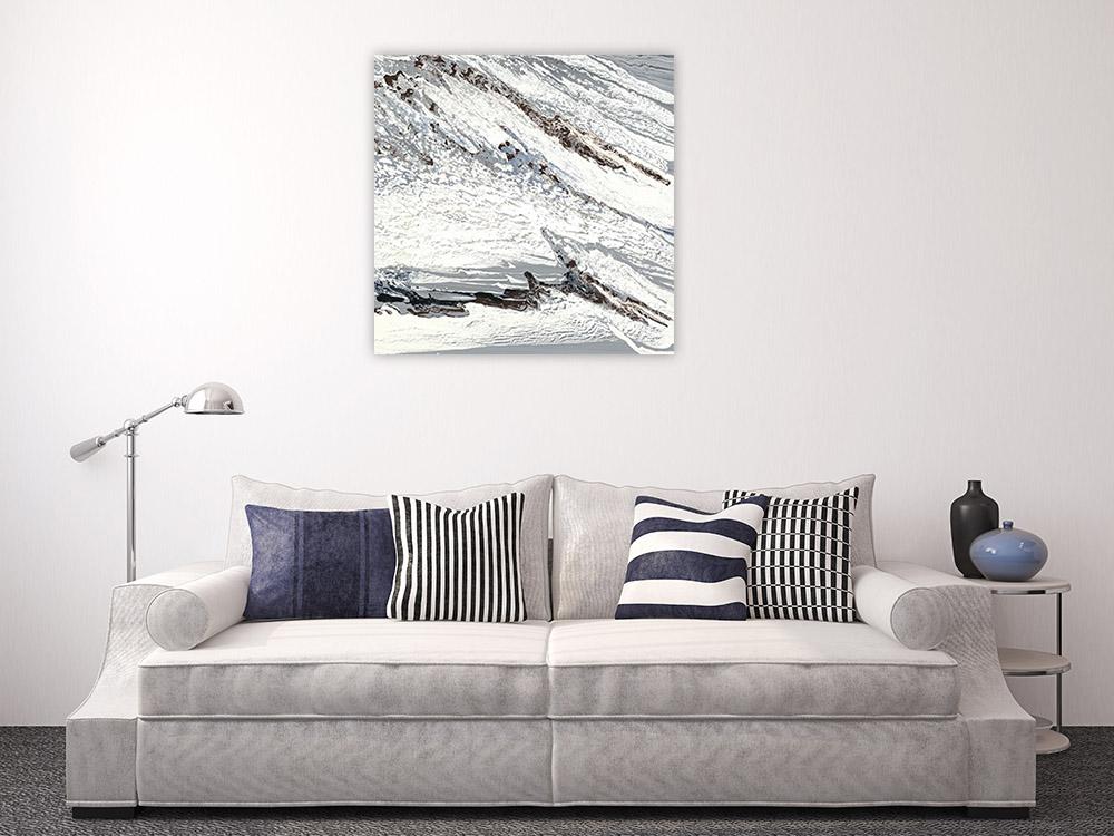 Black and White Art Print Canvas