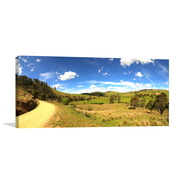 Great Alpine Road Picture Canvas