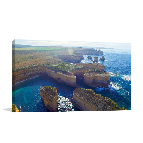 Great Ocean Road Art Print Coastine