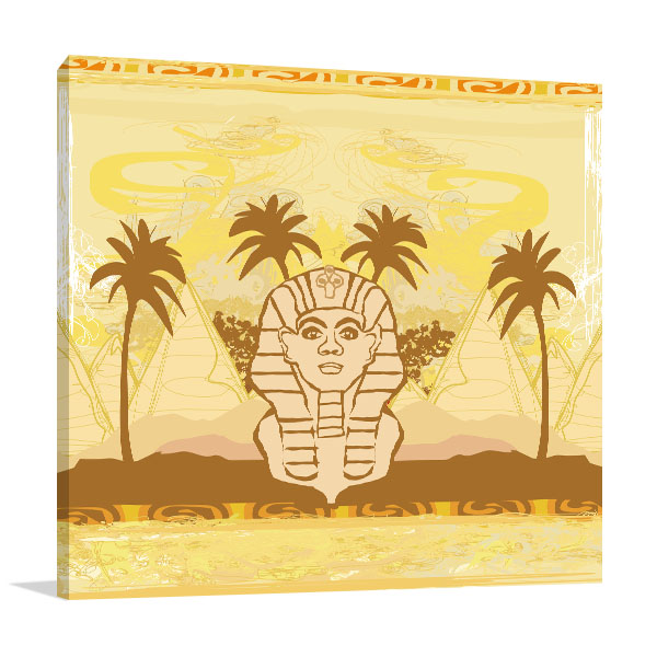 Great Sphinx of Giza Canvas Art