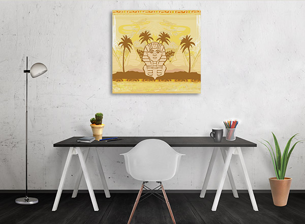 Great Sphinx of Giza Canvas Prints