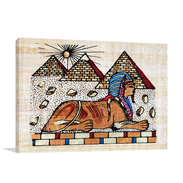 Great Sphinx Canvas Art Prints
