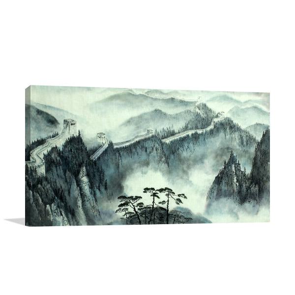 Great Wall Of China Prints Canvas