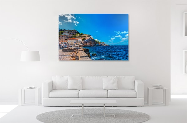 Greece Island Artwork