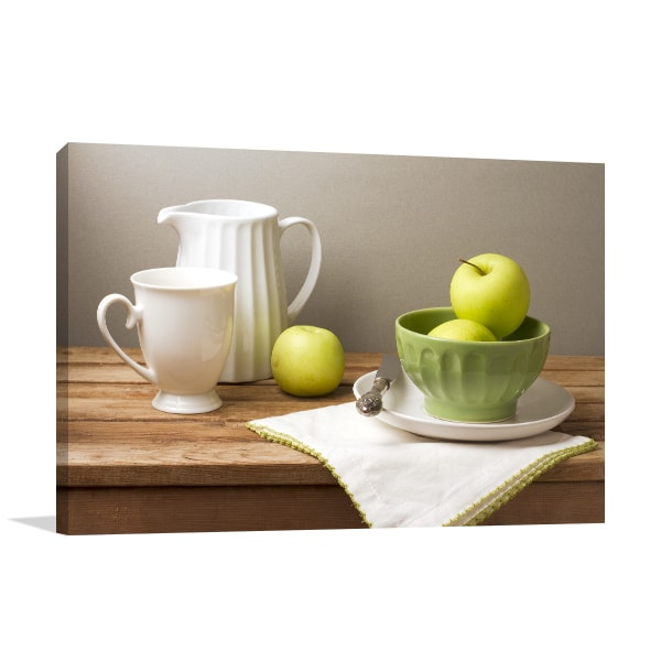 Green Apples Print Artwork
