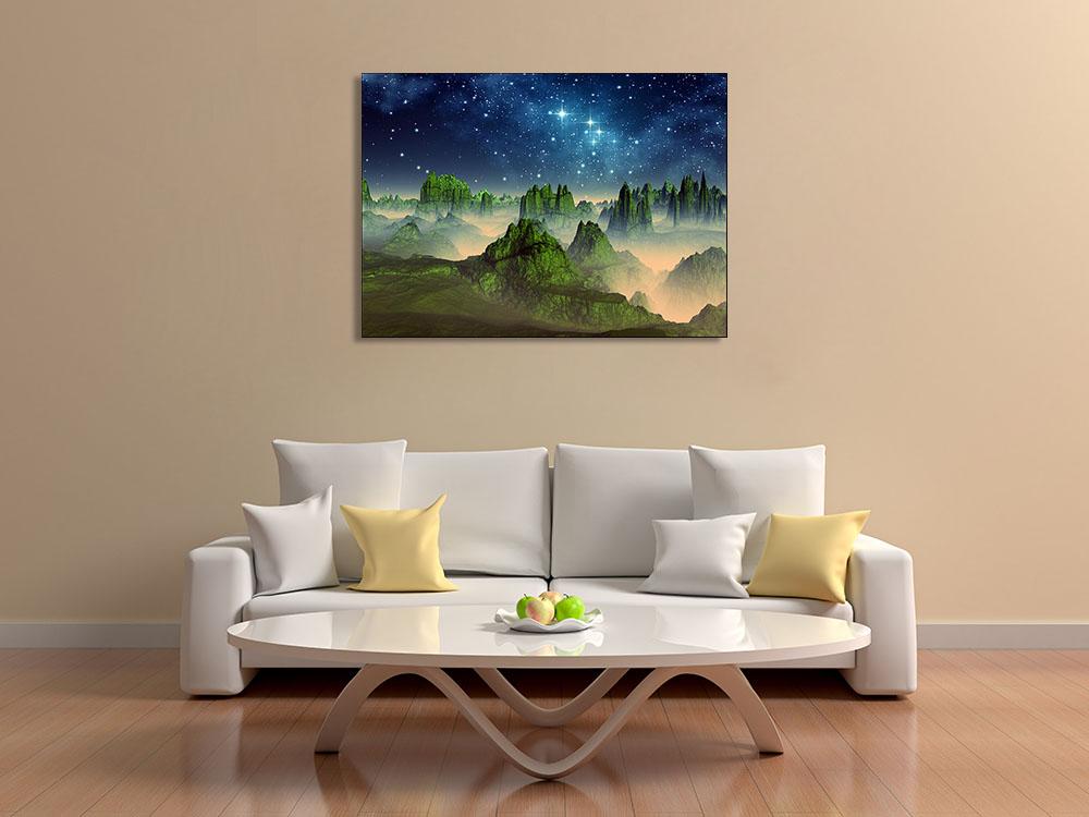 Nature Landscape Magical Print