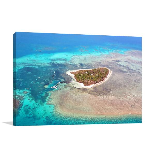 Green Island Cairns Australia Canvas Print