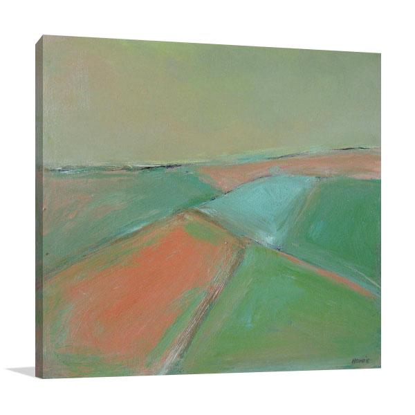 Brooke Howie | Green Landscape Print Artwork