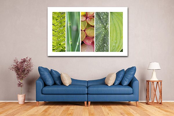Green Nature Art Prints