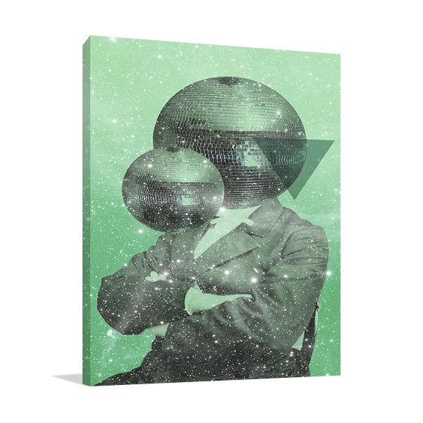 Green Universe Wall Art Print