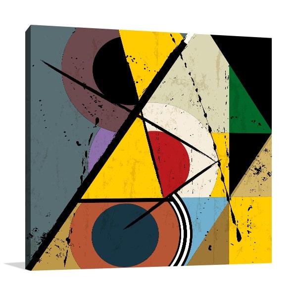 Grungy Design Wall Canvas