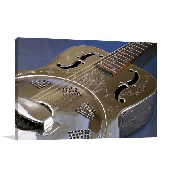 Guitar Dobro Canvas Art Prints