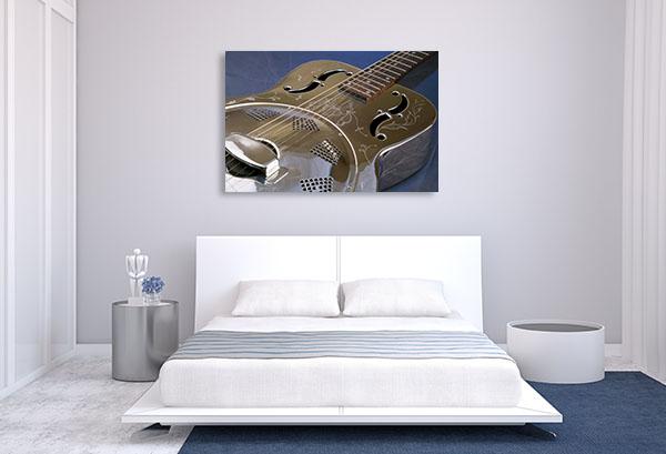 Guitar Dobro Print Artwork