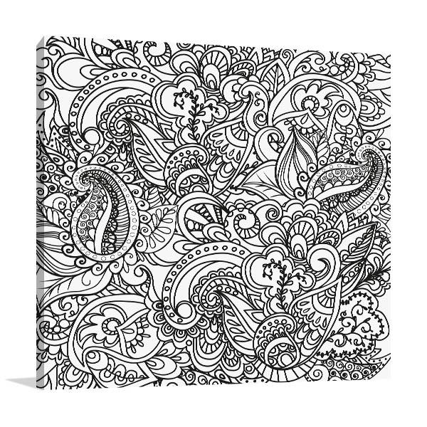 Handmade Pattern Canvas Art Prints