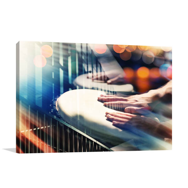 Hands On Percussion Art Prints