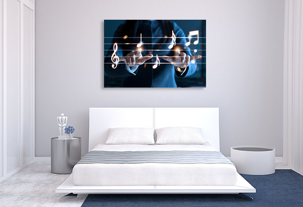 Hands Playing Canvas Prints