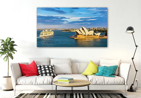 Harbour Sydney Prints Canvas