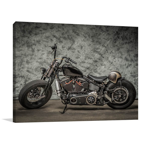Harley Davidson Motor Prints Canvas