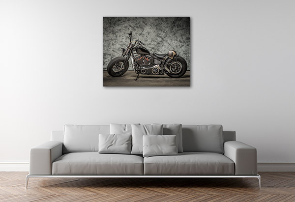 Harley Davidson Motor Art Prints