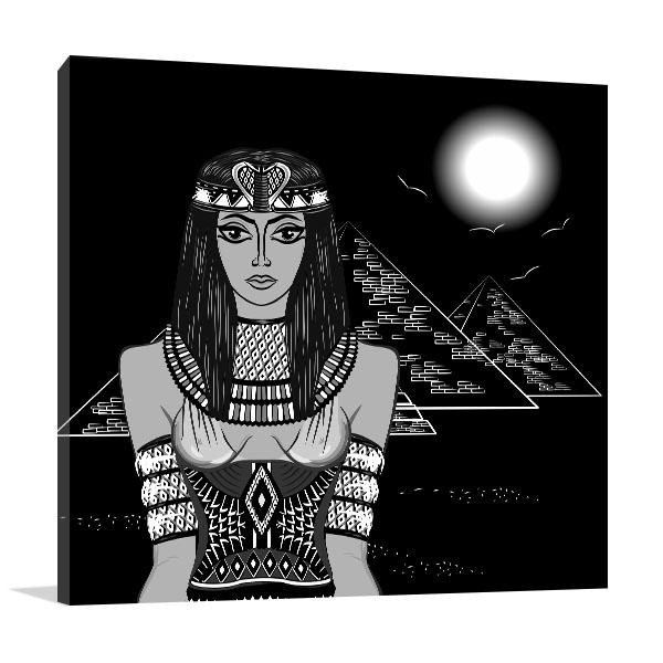 Hathor Wall Art