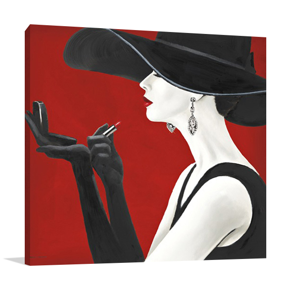 Haute Chapeau Rouge II Wall Art Print