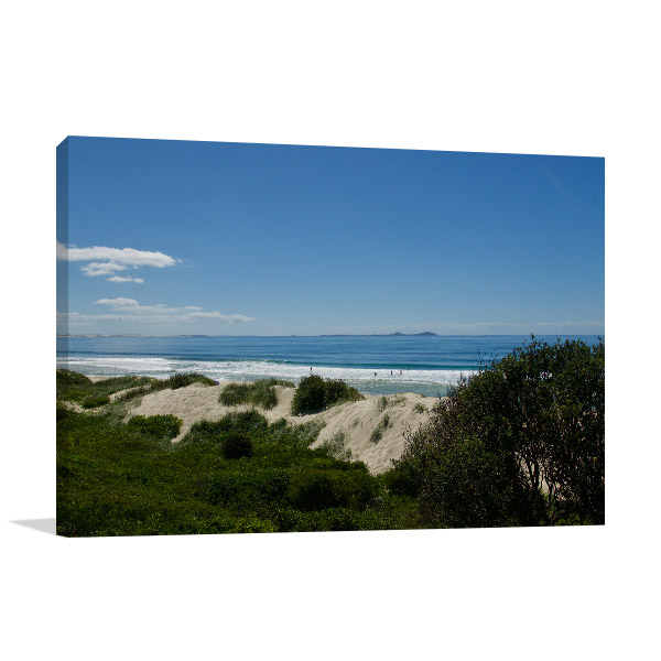 Hawks Nest Wall Art Print Beach Canvas Artwork