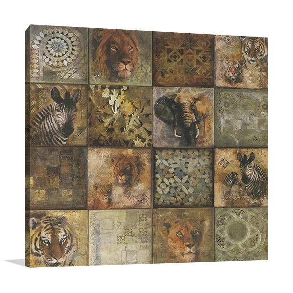 Heartland African Animals Wall Print