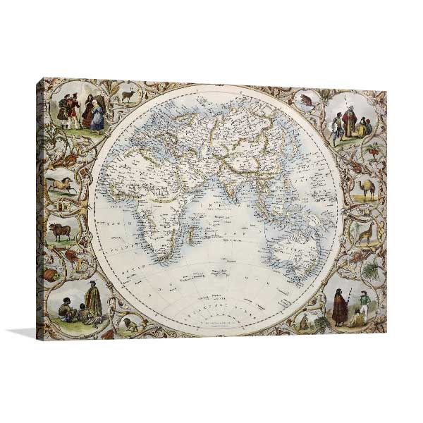 Hemisphere Oriental Artwork