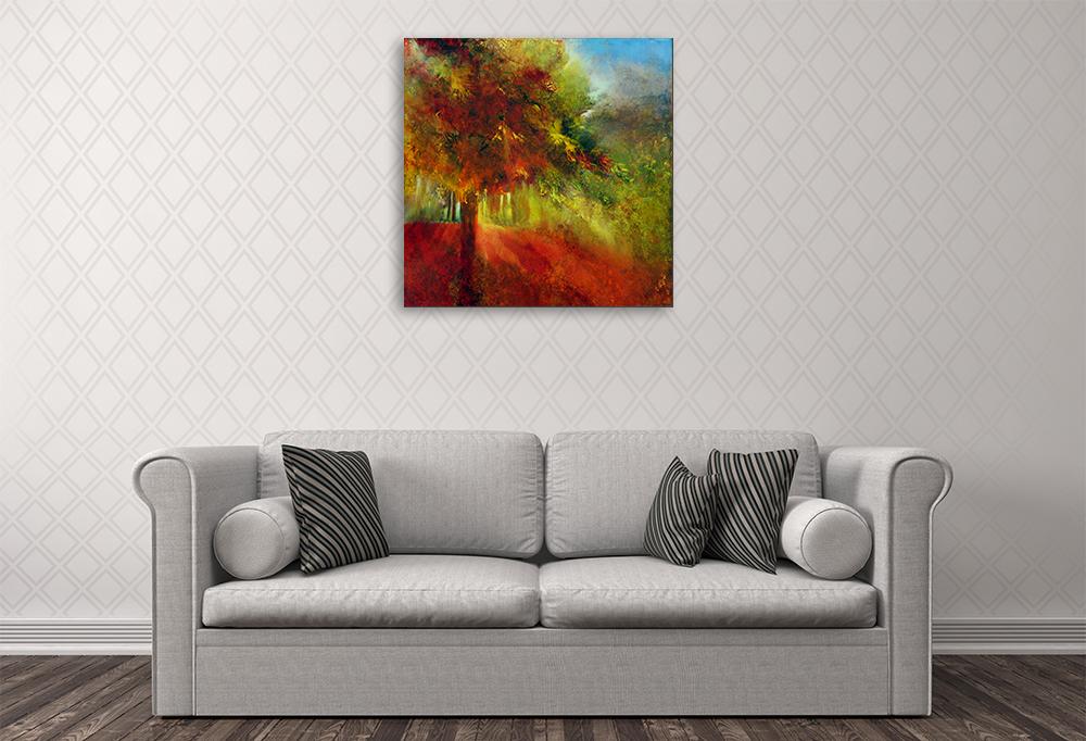 Annette Schmucker | October Light | Paintings