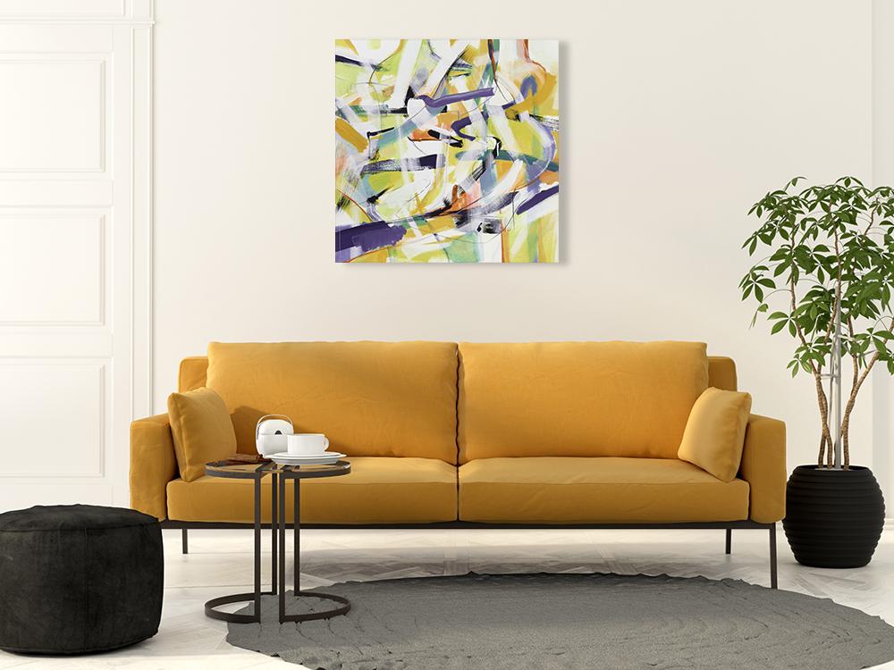 Multi Colors Wall Art Print