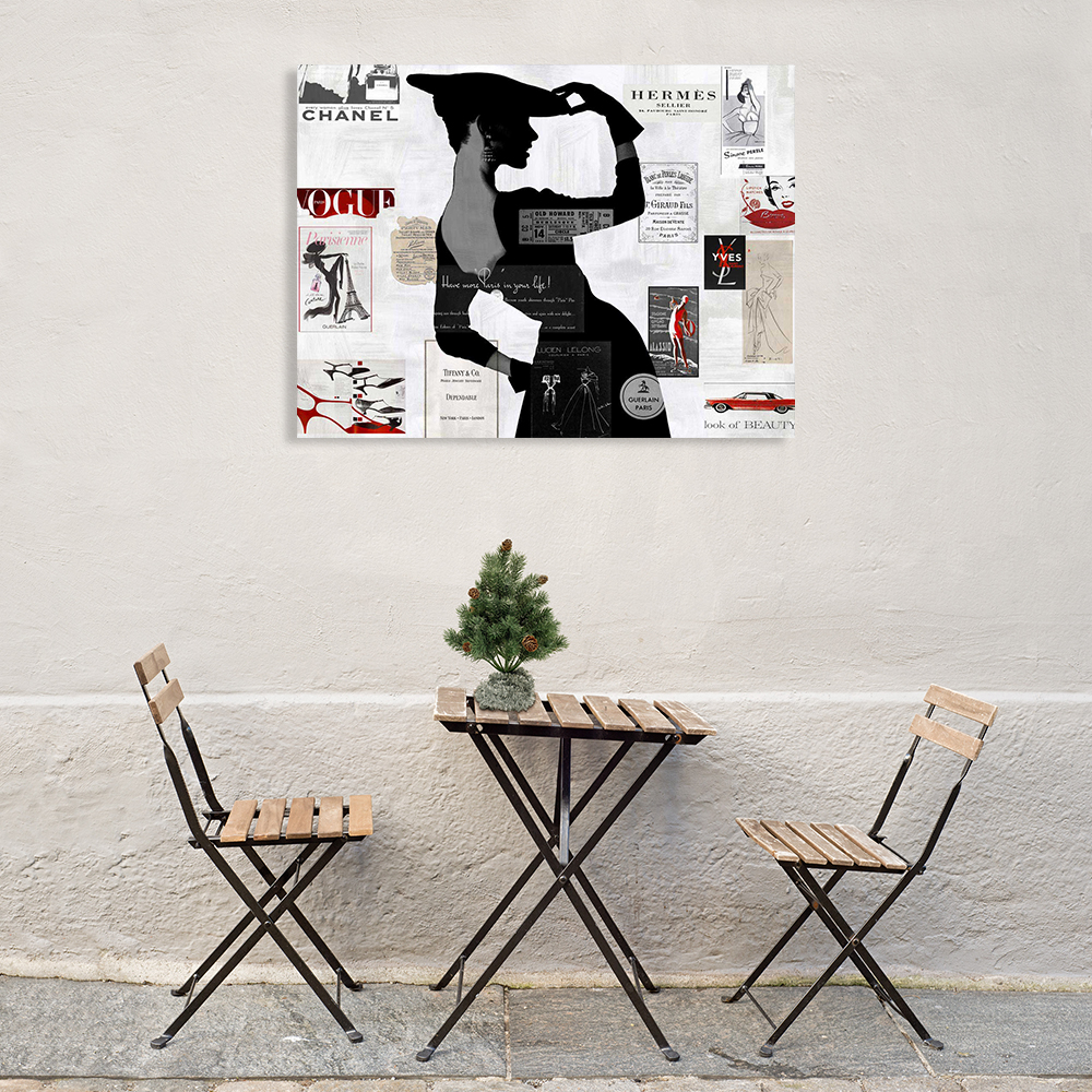 Black and White Fashion Art